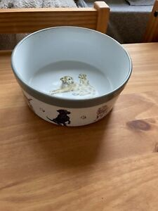 Wrendale dog bowl Large excellent condition