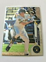 2020 Topps Chrome Update Baseball Base Card - Brock Holt - Milwaukee Brewers