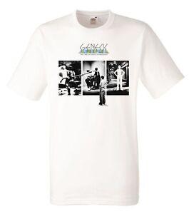 Genesis The Lamb Lies Down On Broadway White Herren T-shirt Men Rock Band Tee