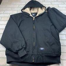 Mens Large Walls Zero Zone Insulated Zip Up Jacket Coat EUC