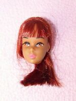 RARE Vintage 1960's Barbie FRANCIE BLACK A.A. doll - LOVELY HEAD never used