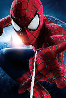 The Amazing Spiderman A1 High Quality Canvas Art Print
