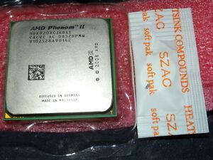 AMD Phenom II X4 920 2.8 GHz Quad-Core (HDX920XCJ4DGI) AM2 AM2+ Free P&P