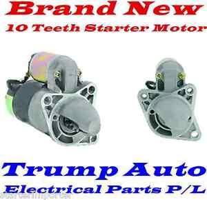 Starter Motor Mazda 323 Astina BA BG BJ engine BP B6 ZM 1.6L 1.8L Petrol 98-04