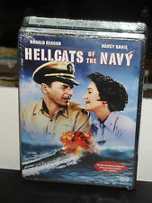 Hellcats of the Navy (DVD) Nancy Davis, Ronald Reagan, Nathan Juran, BRAND NEW!