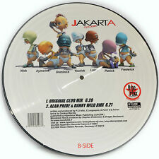 Picture Vinyl Jakarta One Desire   Rare Limited Edition