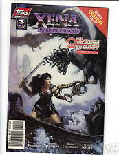 Xena: Warrior Princess & Orpheus Trilogy #3 comic  1998