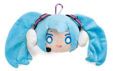 Hatsune Miku X Groove Coaster Happy Miku Face Plush Toy