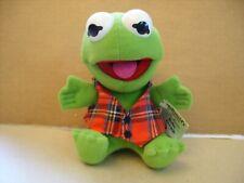 Vintage Baby Kermit Frog 1987 Jim Henson MCDONALDS Plush Muppet Babies TAGS 7''