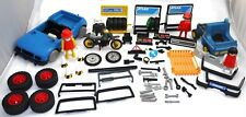 PLAYMOBIL ESSO GARAGE SET EXTRA PARTS & FIGURES AND ACCESSORIES +++