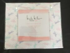 NEW NICOLE MILLER Home KIDS 4 Piece UNICORN FULL Sheet Set Pink Purple Green