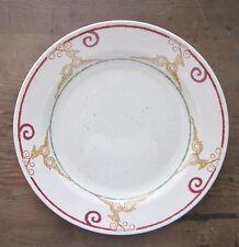 Pier 1 Rustic Reindeer One Dinner Plate England Microwave Dishwasher Safe