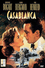 Casablanca (Snap Case) Dvd Humphrey Bogart, Ingrid Bergman, Paul Henreid.