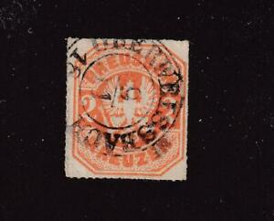 GERMANY PRUSSIA # 24 SON CANCEL CAT VALUE $95+