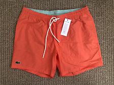 Lacoste Mens Swim Shorts Size XL 77% Cotton 23% Polyamide