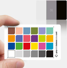 2 en 1 tarjeta de color gris de balance de blancos: 3x2 tamaño de la tarjeta de crédito-Nuevo Estilo