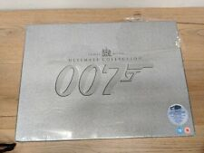 The James Bond Complete Collection (DVD, 2006, 40-Disc Set, Box Set)
