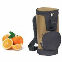 Golf Tall Cooler Lunch Box Bag Work Picnic Beer Water Bottles Drinks  7 x 15""