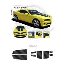 Chevrolet Camaro Convertible 2011-2013 Rally Stripes Graphic Kit - Carbon Fiber