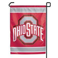Ohio State Buckeyes 11x15 Garden Flag [New] Ncaa Banner Sign Fan Yard Grass