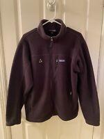 Patagonia Men's Classic Synchilla Fleece Full Zip Jacket Black Size Large
