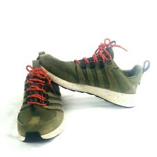 Adidas SL Loop Trail Runners Sneaker Camo Green Suede Speckled Sole 10 Mens