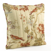 Waverly 11396020X020PPY Charleston Chirp 20-Inch by 20-Inch Square Quilted