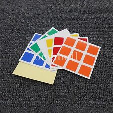 100XCube Replacement Stickers for 3x3x3 Dayan Speed Cube PVC Rubiks cube sticker