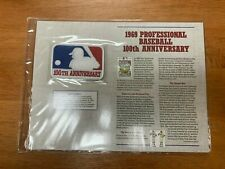WILLABEE & WARD COOPERSTOWN COLLECTION PATCH 1969 PROFESSIONAL BASEBALL 100th