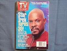 TV GUIDE STAR TREK TURNS 30 #4 AVERY BROOKS CISCO WILLIAM SHATNER PATRICK STEWAR