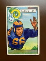 1951 Bowman Football Card #78 Jack Zilly-Los Angeles Rams- Notre Dame