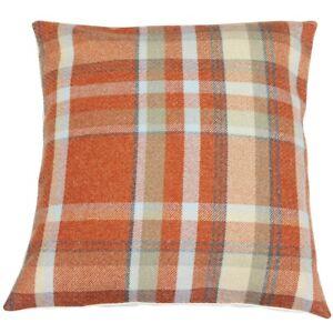 Autumn Elgin Checked Cushion Cover