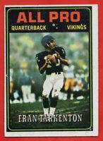 1978 Topps #129 Fran Tarkenton EX-EXMINT Minnesota Vikings HOF AP FREE SHIPPING