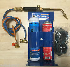 Kit Soldadura Autógena Walkover 555C - Gas NOVACET + OXIGENO desechable 100 bar