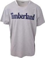 Timberland Men's Grey Classic Logo S/S Tee (Retail $35) S15