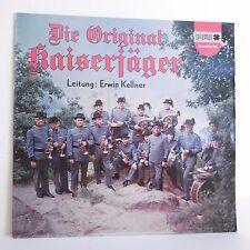 "33T DIE ORIGINAL KAISERJAGER Vinyl LP 12"" Erwin KELLNER Autriche BELLAPHON 23016"