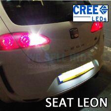 SEAT Leon inversa LED 1pc 5W cree 1156 BA15S P21W blanco brillante de actualización