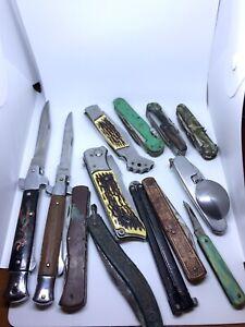 Vintage Knife Lot  Pocket Knives ussr vintage old rare antique