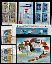 FLAGS Thematic STAMP Collection MICRONESIA majority MINT Unmounted  REF:TS789