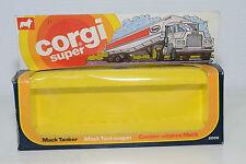 CORGI TOYS 2006 MACK TANKER ESSO TRUCK ORIGINAL EMPTY BOX NEAR MINT CONDITION