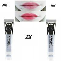 2X Clear Iridescent Topper Lip Gloss Lip Shiner Lip Gloss with multi colour NK**