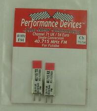 40Mhz Futaba Single Conversion FM TX/RX Crystal Set UK CH71 / Euro CH54 40.715Mh