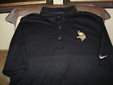 ad6fad8a NFL Minnesota Vikings NIKE Dri Fit Elite Coaches Polo Golf Shirt Men's  Medium