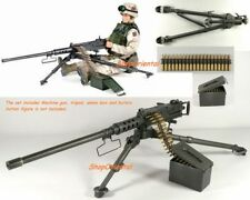75012 1:6 Scale DRAGON .50 CAL M2 BROWNING HEAVY MACHINE GUN BUILT G_M2_NB