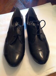 SPRING STEP LACE UP LEATHER SHOES,SIZE 40, COMFORT SHOES