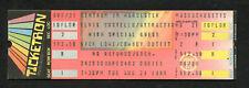 1984 Elvis Costello Nick Lowe Full Concert Ticket Worcester Goodbye Cruel World