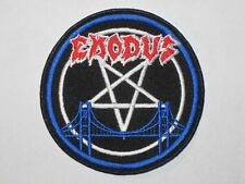 Exodus embroidered New patch thrash metal