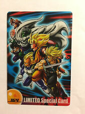 Dragon Ball Z Morinaga Wafer Card 164 Limited Special Card