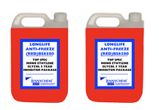 10L Red Antifreeze Coolant G12+ RED Ready Mixed -30°C / +125 German Hi Spec