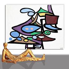 Dipinto ☻ immagine DESIGN PARETE OMAGGIO MIRO ditta ufficio prassi ORIGINALE ☻ 180 x 130